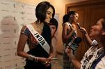 Ekta Chowdhry at Miss Universe 2009 49