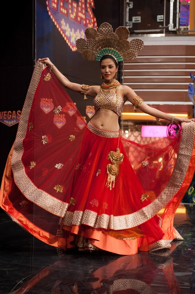 Manasi Moghe at Miss Universe 2013 63